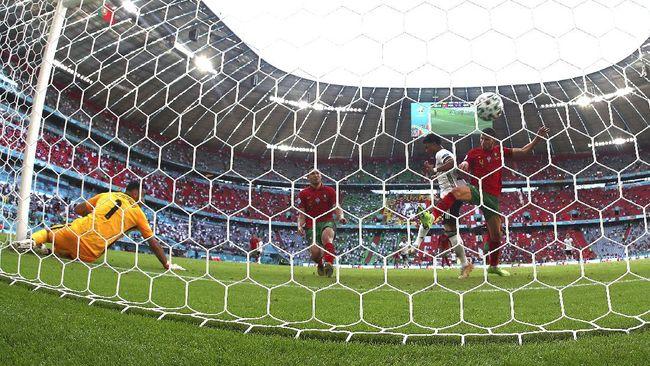 Pertandingan Portugal vs Prancis di penyisihan Grup F Euro 2020 (Euro 2021) diperkirakan bakal sengit. Berikut prediksi line up.