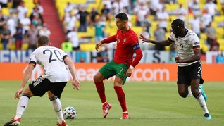 Viral Backheel Ajaib Ronaldo di Portugal vs Jerman