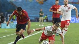 Hasil Euro 2020: Spanyol vs Polandia Berakhir Imbang