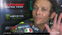 VIDEO: Senyum Rossi Terpuruk di Kualifikasi MotoGP Jerman