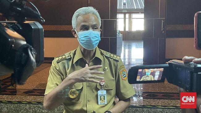 Gubernur Jawa Tengah Ganjar Pranowo mengungkapkan kemungkinan ada kepala daerah yang sengaja mengendapkan anggaran saat pandemi Covid-19.