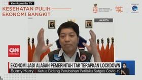 VIDEO: Ekonomi Jadi Alasan Pemerintah Tak Terapkan Lockdown