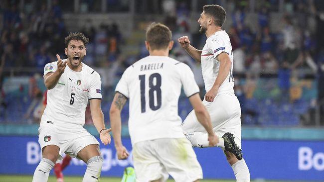 Timnas Italia bermain ofensif di Euro 2020 (Euro 2021) dan diklaim memakai strategi yang mirip dengan Liverpool asuhan Jurgen Klopp.