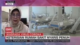 VIDEO: Keterisian Rumah Sakit Nyaris Penuh