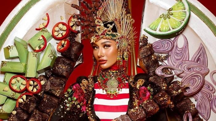 4 Wujud Kostum Nasional Indonesia Terunik dalam Kontes Kecantikan Internasional
