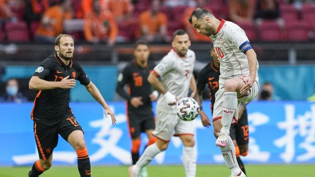 Klasemen Grup E Euro 2020 (Euro 2021) mengalami perubahan usai Belanda mengalahkan Makedonia Utara 3-0.