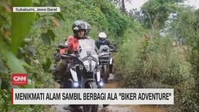 VIDEO: Menikmati Alam Sambil Berbagi Ala Biker Adventure
