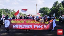 Ratusan Penyuluh Perikanan Demo KKP, Minta Diangkat Jadi PNS