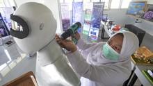 FOTO: Robot Sabai dan Midun Buatan Santri Putri Padangpanjang