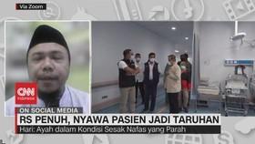 VIDEO: RS Penuh, Nyawa Pasien Jadi Taruhan
