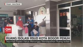 VIDEO: Ruang Isolasi RSUD Kota Bogor Penuh