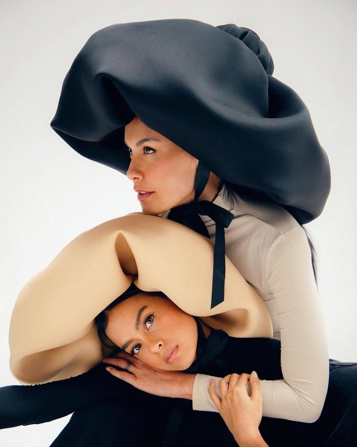 Sophia Latjuba dan Eva Celia
