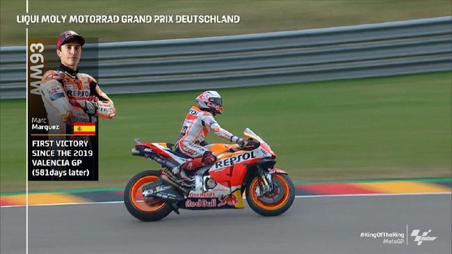 VIDEO: Kemenangan yang Dirindukan Marquez di MotoGP Jerman