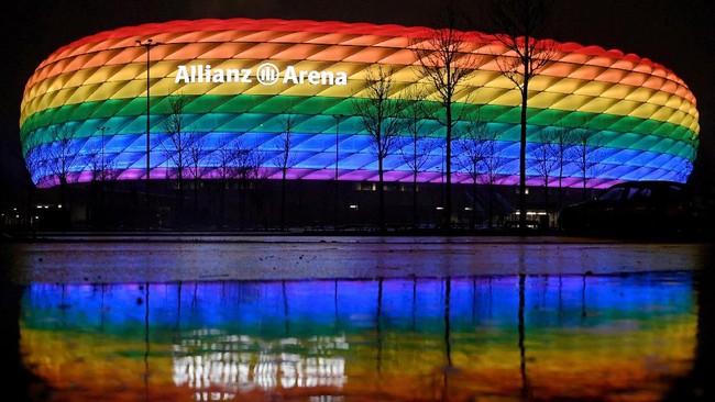 Jerman vs Hungaria: UEFA Larang Lampu Pelangi Dukung LGBT