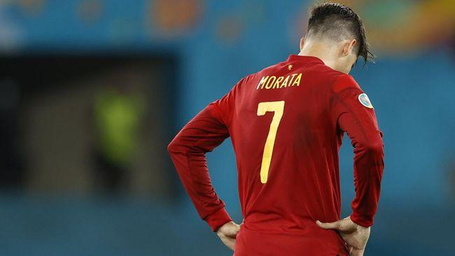 Teka-teki ini yang harus diselesaikan Luis Enrique saat Spanyol lawan Slovakia di Euro 2020: Tetap memainkan Alvaro Morata atau rotasi?