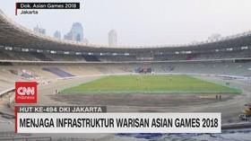 VIDEO: Menjaga Infrastruktur Warisan Asian Games 2018