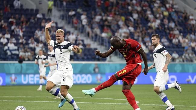 Top Skor Euro 2020: Lukaku Samai Ronaldo
