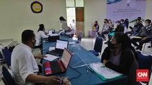 FOTO: Pendaftaran PPDB Jakarta di Tengah Pandemi Covid-19