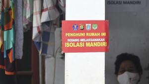 FOTO: Penerapan PPKM Berskala Mikro di Warakas, Tanjung Priok