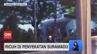 VIDEO: Ricuh di Penyekatan Suramadu, Pagar Pembatas Jebol