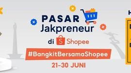 HUT Jakarta, Shopee-Pemprov DKI Bikin Pasar Online Jakpreneur