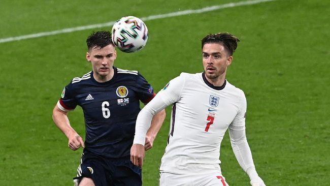 Timnas Inggris sedang panas setelah pelatih Gareth Southgate dikabarkan ribut dengan Jack Grealish jelang melawan Ceko di Euro 2020 (Euro 2021).
