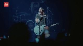 VIDEO: Ribuan Orang Nikmati Konser Foo Fighters di New York