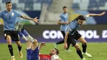 Hasil Copa America 2021: Uruguay vs Chile Berakhir Imbang