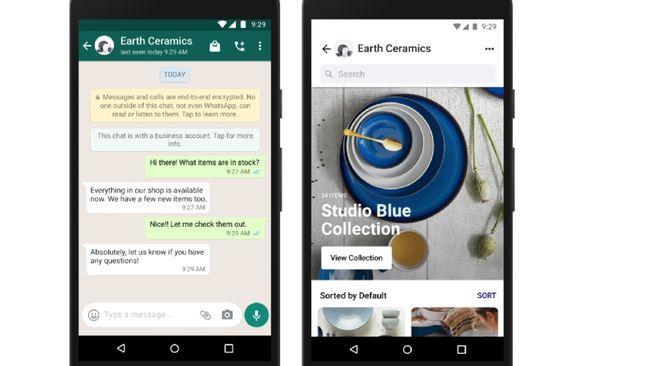 Facebook berencana merilis fitur Shops yang sebelumnya sudah berjalan di Instagram agar bisa digunakan juga di Whatsapp.