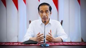 Jokowi Tolak Lockdown di Tengah Rekor Beruntun Covid-19