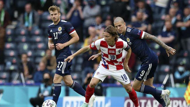 Skotlandia menjadi tim keempat yang tersingkir dari persaingan meraih gelar di Euro 2020 (Euro 2021).
