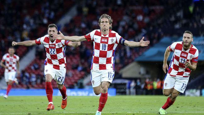 Kapten Kroasia, Luka Modric mengancam Spanyol jelang bentrok di babak 16 besar Euro 2020 (Euro 2021) pada Senin (28/6) malam.