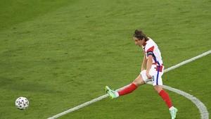 Modric Cetak Gol Ajaib ke Gawang Skotlandia di Euro 2020