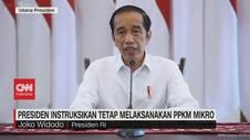 VIDEO: Presiden Instruksikan Tetap Melaksanakan PPKM Mikro
