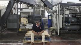 FOTO: Pabrik Pepsi Gaza Tutup Efek Israel Batasi Impor