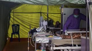 Pasien Covid-19 Pesisir Selatan Dirawat di Tenda Darurat RSUD
