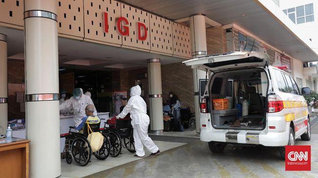Kasus positif Covid-19 secara nasional bertambah 15.308 kasus pada Rabu (23/6). Ini menjadi angka positif harian tertinggi sejak pandemi.