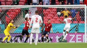 FOTO: Kemenangan Inggris Atas Ceko di Euro 2020