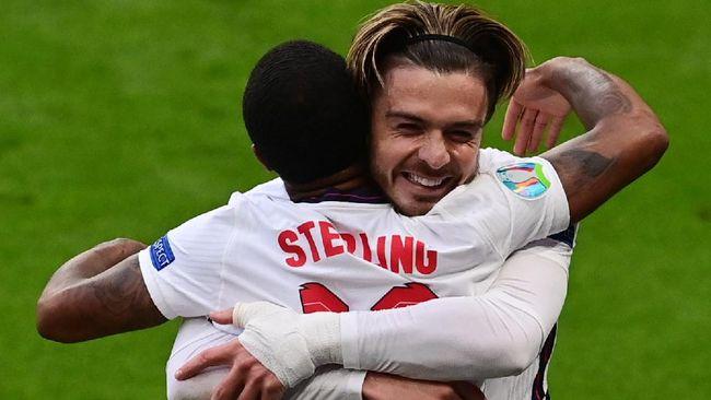 Jack Grealish tampil sebagai salah satu pemain yang berkilau dalam laga Republik Ceko vs Inggris di fase grup Euro 2020 (Euro 2021).