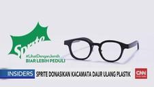 VIDEO: Sprite Donasikan Kacamata Daur Ulang
