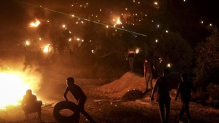 FOTO: Tegang Israel-Palestina di Tepi Barat