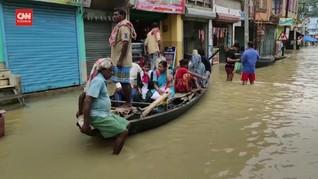 VIDEO: Ribuan Warga Mengungsi akibat Banjir Sungai Gangga