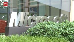 VIDEO: Buntuti Apple, Microsoft Bernilai Rp29,9 Kuadriliun