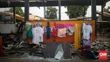 FOTO: 'Halte' Terakhir Bus Transjakarta di Sudut Pulogadung