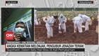 VIDEO: Angka Kematian Melonjak, Pengubur Jenazah Teriak