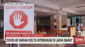 VIDEO: Covid-19 Delta Ditemukan di Jawa Barat
