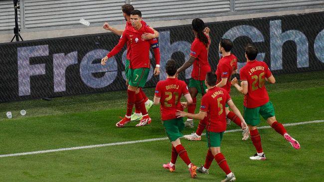 Klasemen peringkat tiga terbaik untuk lolos ke 16 besar Euro 2020 (Euro 2021) salah satunya berisikan timnas Portugal.