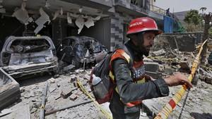 FOTO: Ledakan Bom Bunuh Balita di Lahore Pakistan