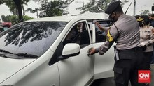 Polisi Cegat Mobil Pelat Daerah, Pendukung Rizieq Diamankan