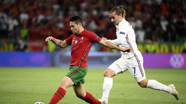 Prancis jadi juara grup disusul Jerman dan Portugal sebagai wakil Grup F ke babak 16 besar Euro 2020 (Euro 2021).